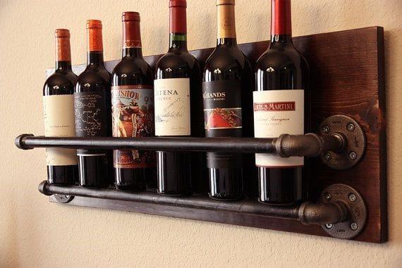 Wine Bottle Display