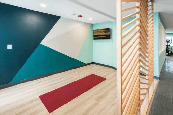 On demand fitness center to pair with your favorite work-out app! The Eden Apartments Queen Anne Hill Seattle, WA