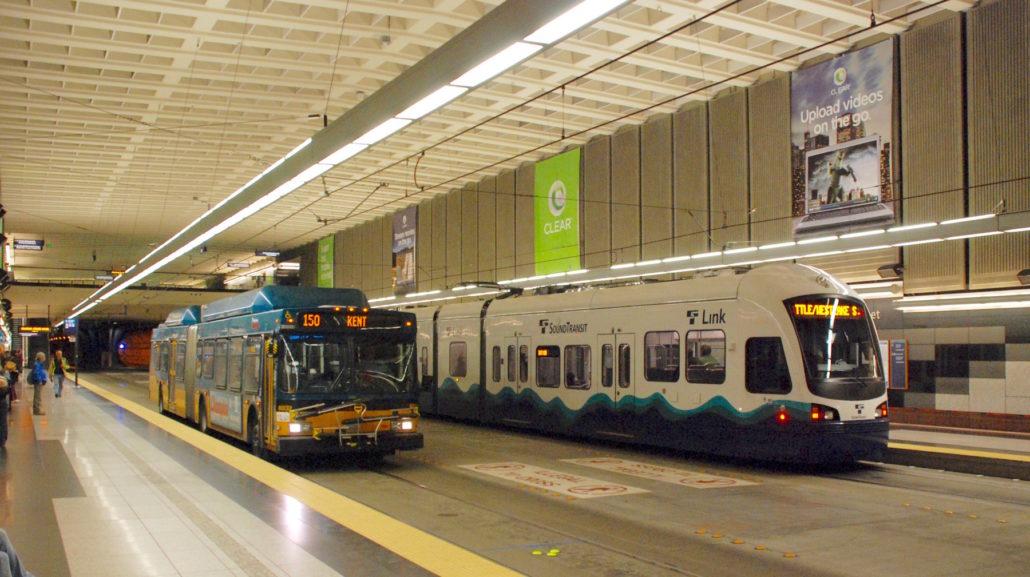 Seattle Public Transit | Westlake Bus System | Navigate Seattle