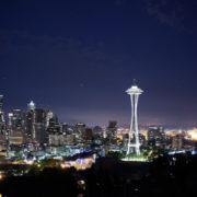 seattle skyline from eden apartments